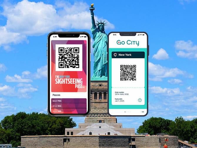 Skillnaden mellan New York Sightseeing Flex Pass och New York Explorer Pass
