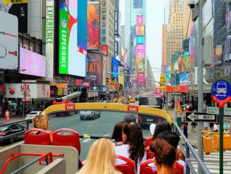 Skillnaden mellan New York Sightseeing Day Pass och New York Pass - Hop on Hop off buss