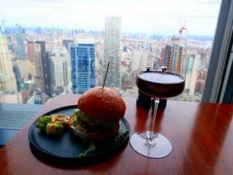 Restauranger i New York - Drink på Manhatta