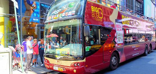Hop on Hop Off buss