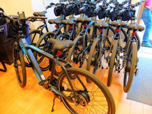 Electric Bike Tour i New York - el-cyklar