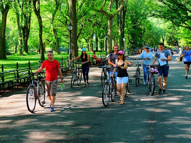 Electric Bike Tour i New York
