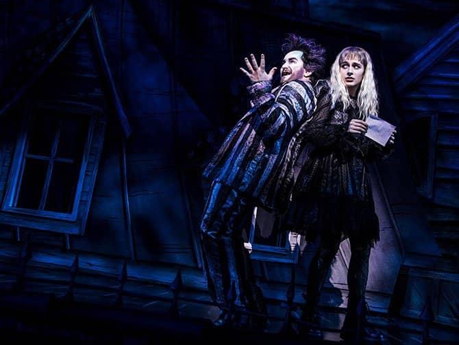 Biljetter till Beetlejuice på Broadway - Beetlejuice & Lydia