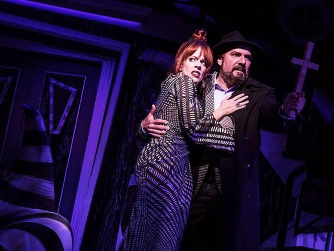 Biljetter till Beetlejuice på Broadway - Föräldrarna