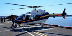 Ta en helikoptertur
