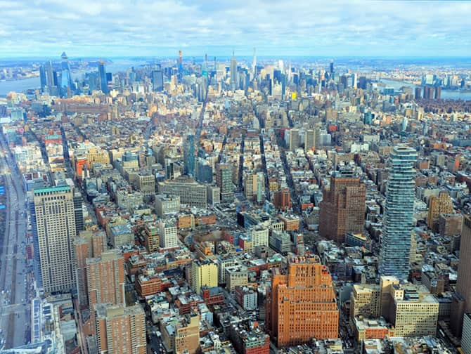 Skillnaden mellan New York Sightseeing Flex Pass och Sightseeing Day Pass - One World Observatory
