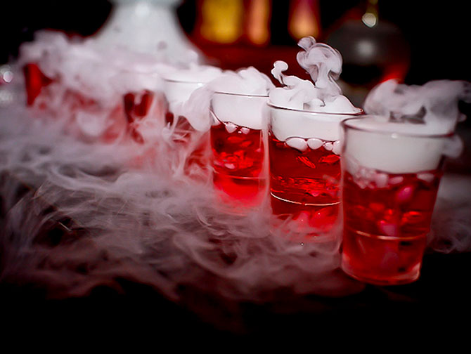 Halloweenfester i New York - Drinkar
