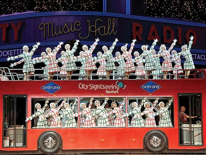 Julshower i New York - Radio City Christmas Spectacular