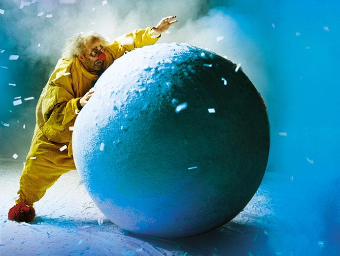 Julshower i New York - Slava's Snowshow