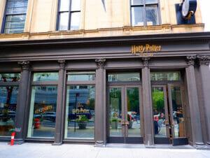 Harry Potter butiken i New York