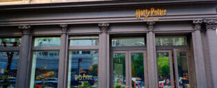 Harry Potter butiken i New York