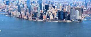 Billiga helikopterturer över New York