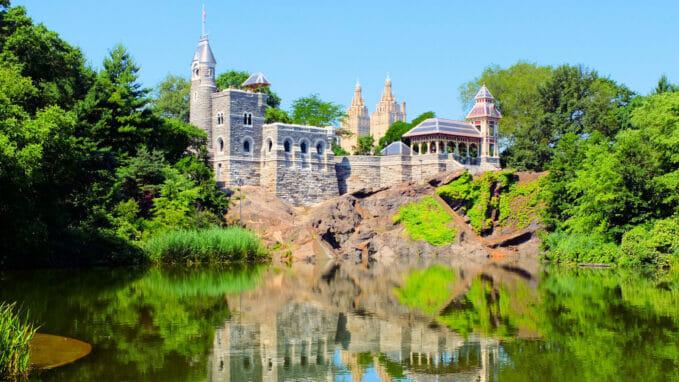 Belvedere Castle i Central Park – Zoom