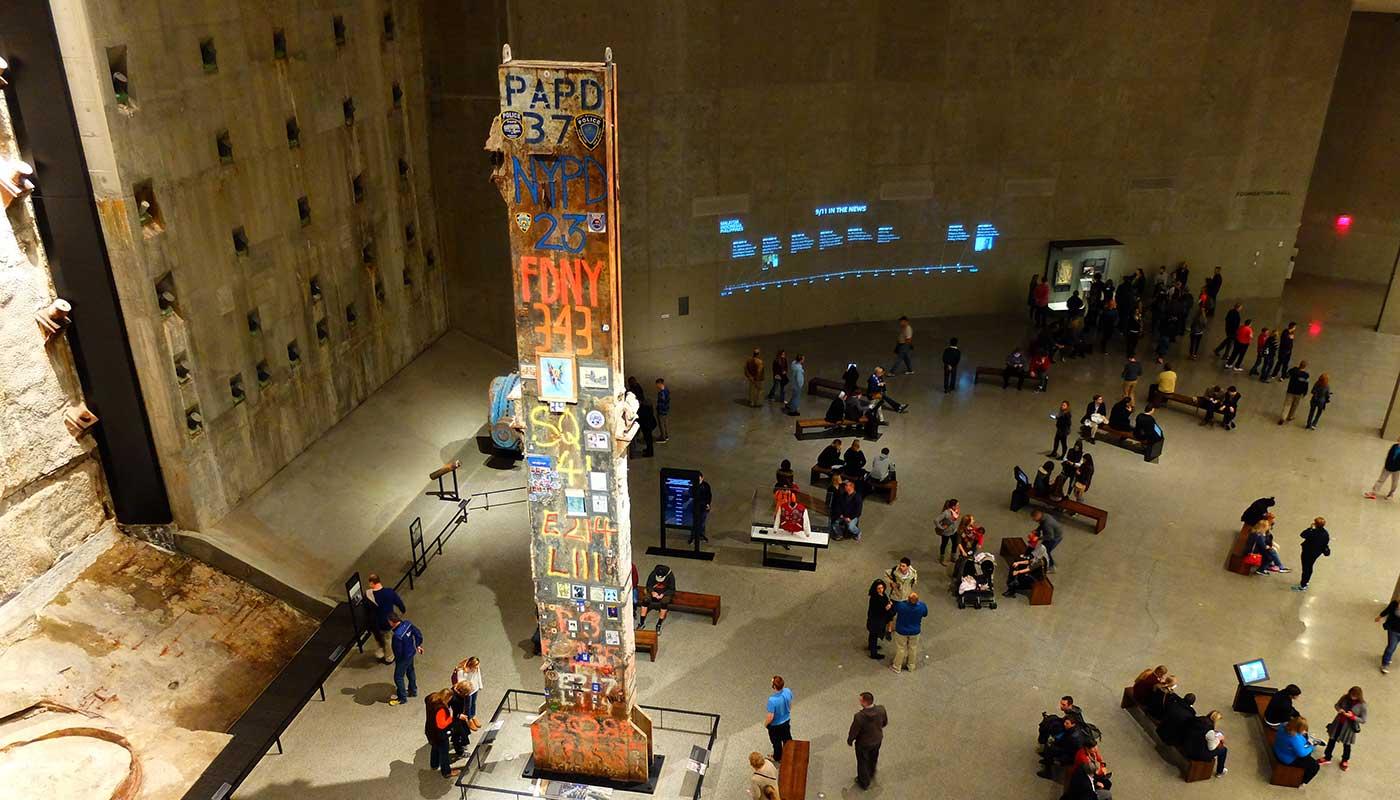 Toppmuseer i New York - 9-11 Museum