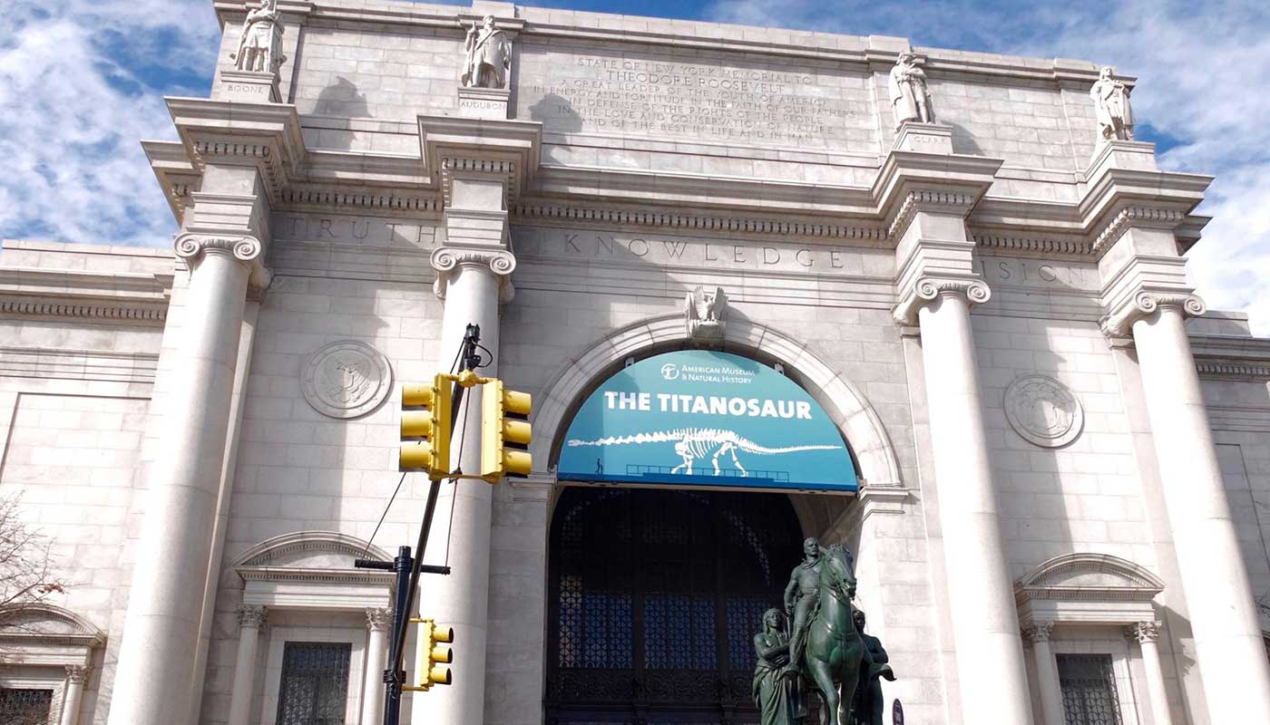 Toppmuseer i New York - American Museum of Natural History