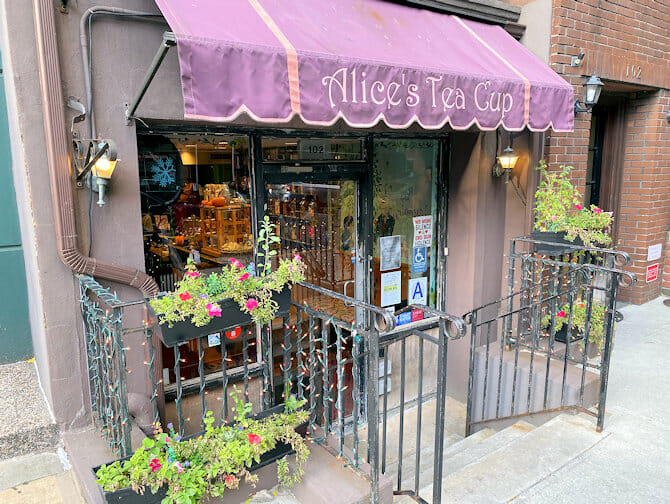 Mors dag i New York - Alices Tea Cup