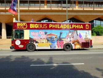 Philadelphia rabattkort för sevärdheter - Hop on Hop off buss