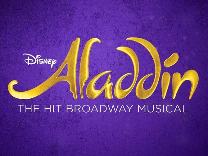 Biljetter till Aladdin på Broadway