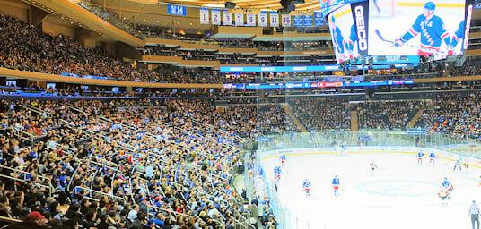 Hockeymatch Rangers