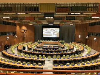 Förenta Nationerna i New York Trusteeship Council Chamber
