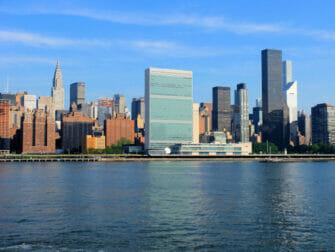 Förenta Nationerna i New York United Nations Chrysler Building