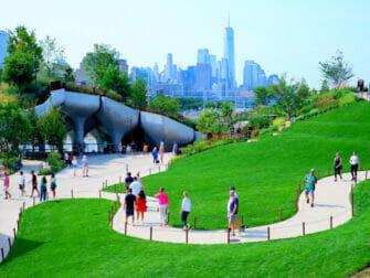 Little Island i New York - Grön oas