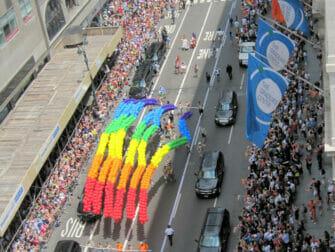 New York Gay Pride - Regnbågar