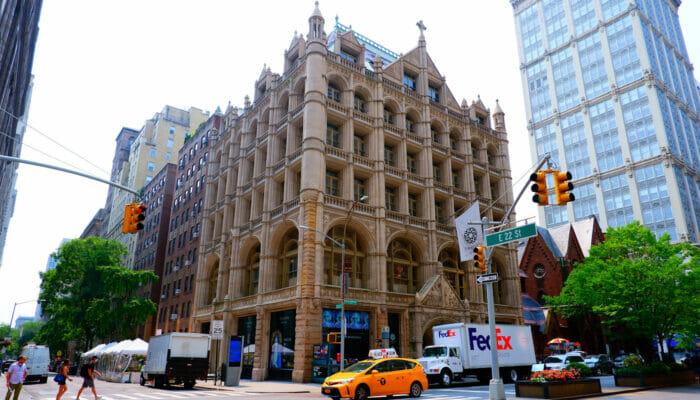 Fotografiska i New York New York - Byggnaden på Park Avenue