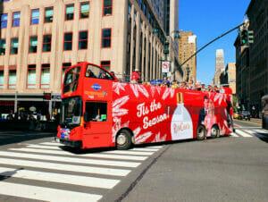 Gray Line Hop on Hop off buss i New York