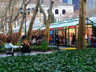 Julmarknaden i Bryant Park