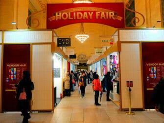 Julmarknaden i Grand Central Terminal