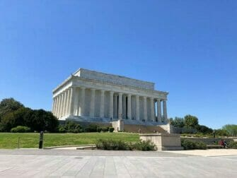 Washington DC rabattkort för sevärdheter - Lincoln Memorial