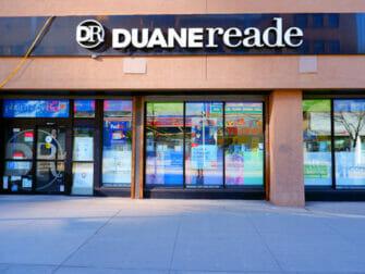 Matbutiker i New York - Duane Reade