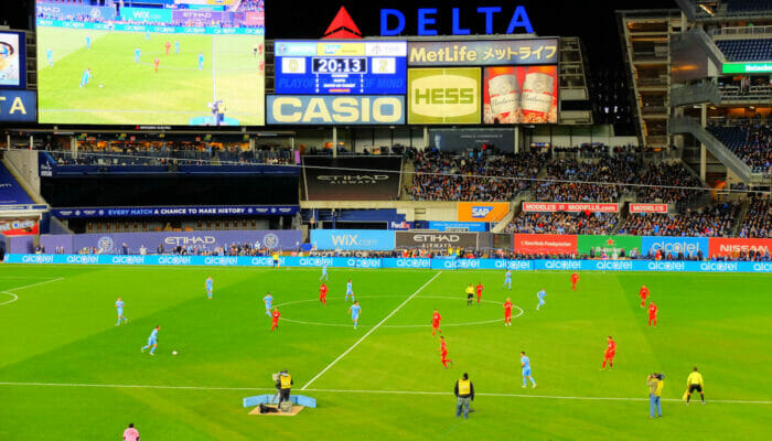 MLS fotboll i New York