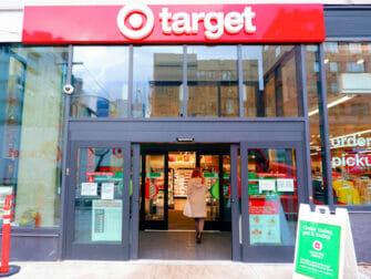 Matbutiker i New York - Target New York utsida