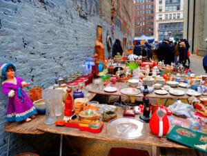 Loppmarknader i New York
