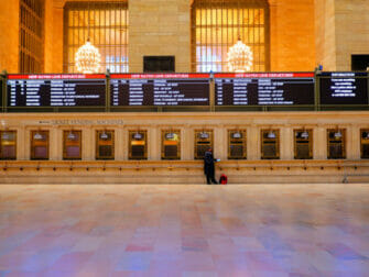 Metro North Railroad i New York - Biljetter