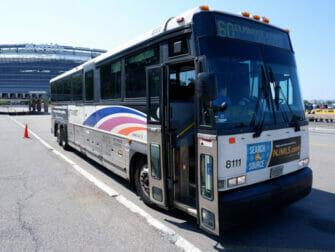 New Jersey Transit i New York - NJ Transit buss
