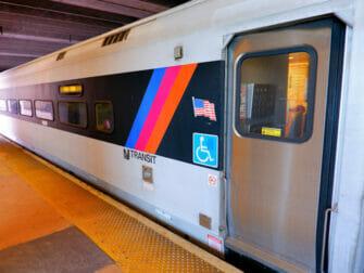 New Jersey Transit i New York - Tåg