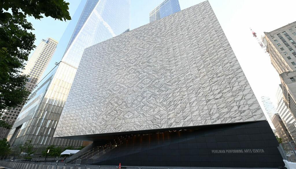 Performing Arts Center i New York – Utsida