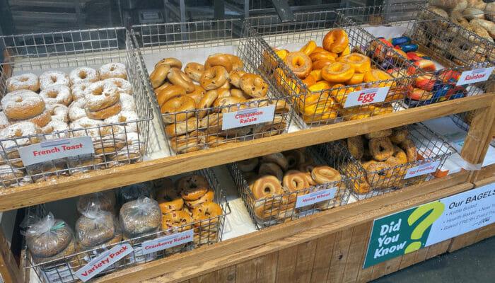 Bästa bagels i New York - New York matbutik
