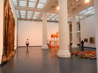 Brooklyn Museum i New York - Inne i museet