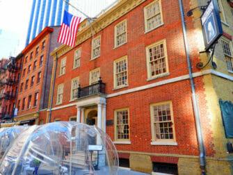 Hamilton Tours i New York - Fraunces Tavern