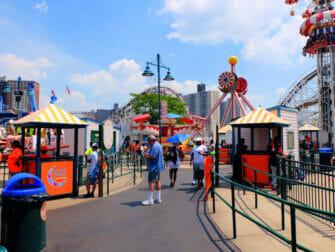 Luna Park i Coney Island biljetter - Kul dag