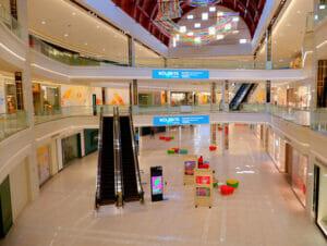 American Dream Mall nära New York - Inne på American Dream