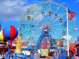 Deno's Wonder Wheel Amusement Park på Coney Island
