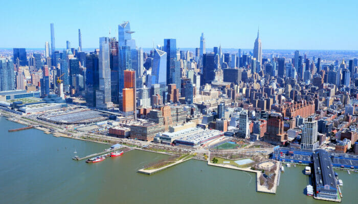 Manhattan i New York - Skyline