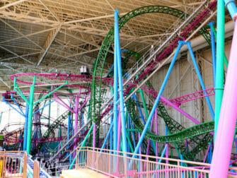 Nickelodeon Universe Amusement Park nära New York biljetter - Berg-och dalbana
